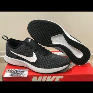 NEW Nike Dualtone Racer Black White Air Max 270